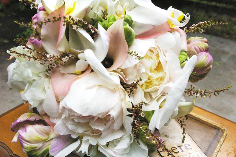 peony bridal bouquet pink white flowers utah wedding flowers studio stems