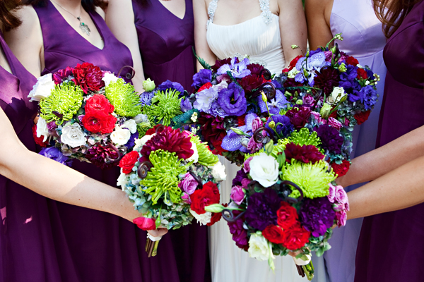 lavendar red bridal bridesmaid bouquets studio stems persian wedding